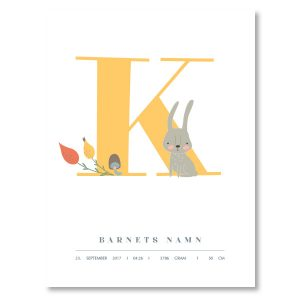 Namnposter - K