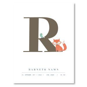 Namnposter - R