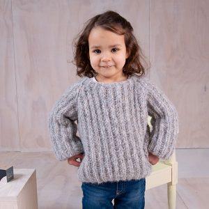 Bluum stickad tröja - Patent i Cuzco