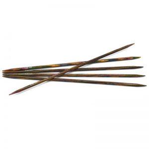 3.5mm 15cm - Symfonie strumpstickor regnbue