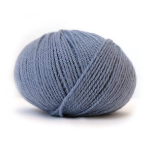 Bluum sticknings set - Val Dus denim Stickning 3-6 mån