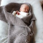Bluum stickning - Myspåse och Babyfilt i Pure Eco Baby Wool