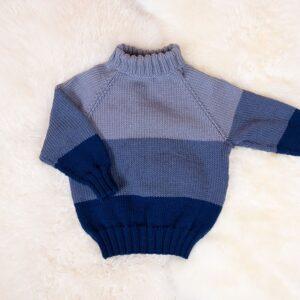 Bluum stickning - Ute-tröja i Zara Plus