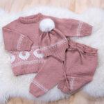 Bluum stickningsset - Lammet i Pure Eco Baby Wool