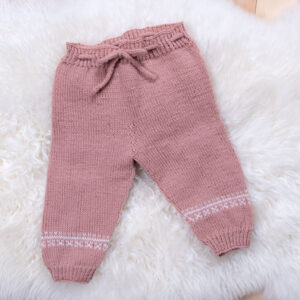 Bluum sticka byxor - i Pure Eco Baby Wool