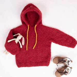 Bluum stickad luvtröja - David till barn i Cuzco