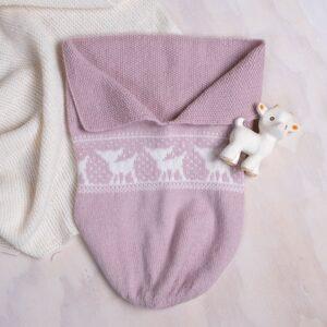 Bluum myspåse Bambi i Pure Eco Baby Wool