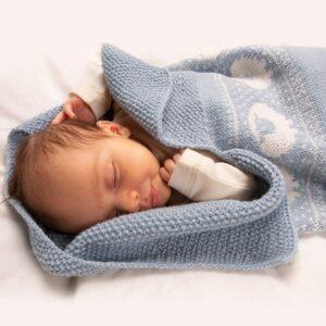 Bluum myspåse - modell Lammet i Pure Eco Baby Wool