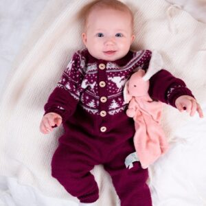 Bluum stickad dress - Bambi i Pure Eco Baby Wool