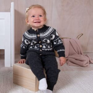 Bluum stickad dress - Lammet i Pure Eco Baby Wool