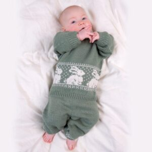 Bluum stickningsset - Kanin i Pure Eco Baby Wool