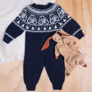 Bluum stickad dress - Traktor i Pure Eco Baby Wool