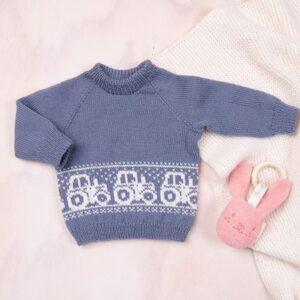 Bluum tröja - Traktortröjan i Pure Eco Baby Wool
