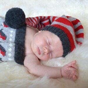 Myspåse Domherre + Tomteluva i Pure Eco Baby Wool