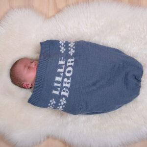 Myspåse Lillebror i Pure Eco Baby Wool