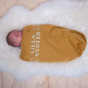 Myspåse Lillasyster i Pure Eco Baby Wool