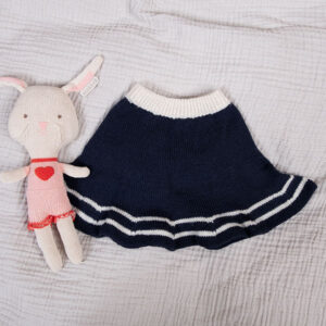 Bluum stickning - Sjömansset m/kjol i Pure Eco Baby Wool