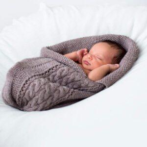 Myspåse Fläta - fler färgval i Pure Eco Baby Wool